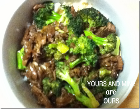 Slow Cooker Beef & Broccoli Recipe