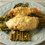 Asparagus Stuffed Chicken - Yours And Mine Are Ours