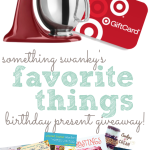 Favorite Things Birthday Present Giveaway Worth $800!