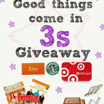 3-3-3 Giveaway Sweet Twist of Blogging