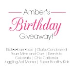 Rickabamboo Birthday Giveaway