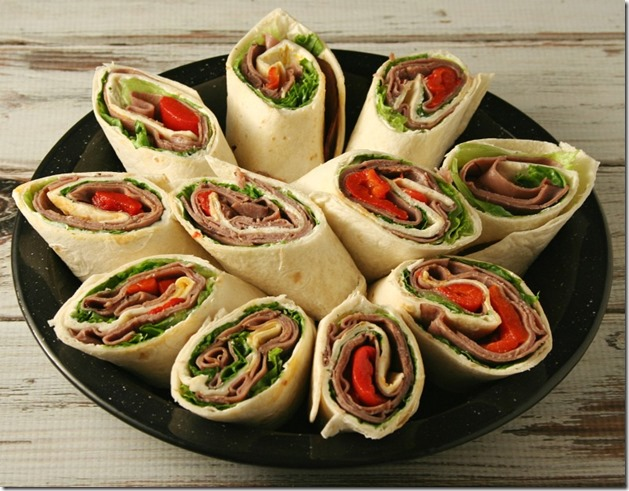 how to make roast beef wrap
