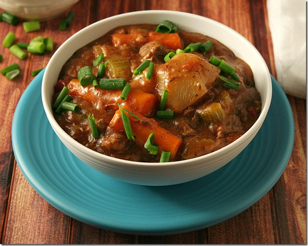 Seriously best beef stew ever and it's low carb! - Low Carb Slow Cooker Beef Stew2 - Yours And Mine Are Ours