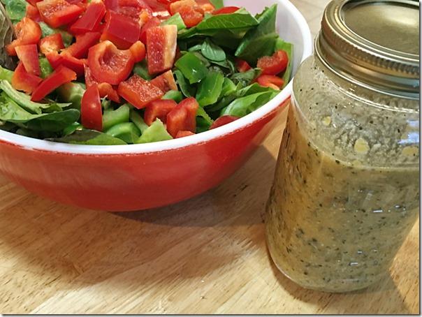 Homemade_Italian_Parmesan_Salad_Dressing | YoursAndMineAreOurs