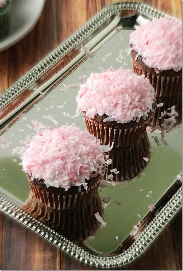 Chocolate_Cupcakes_with_Marshmallow_Coconut_Icing_YoursAndMineAreOurs