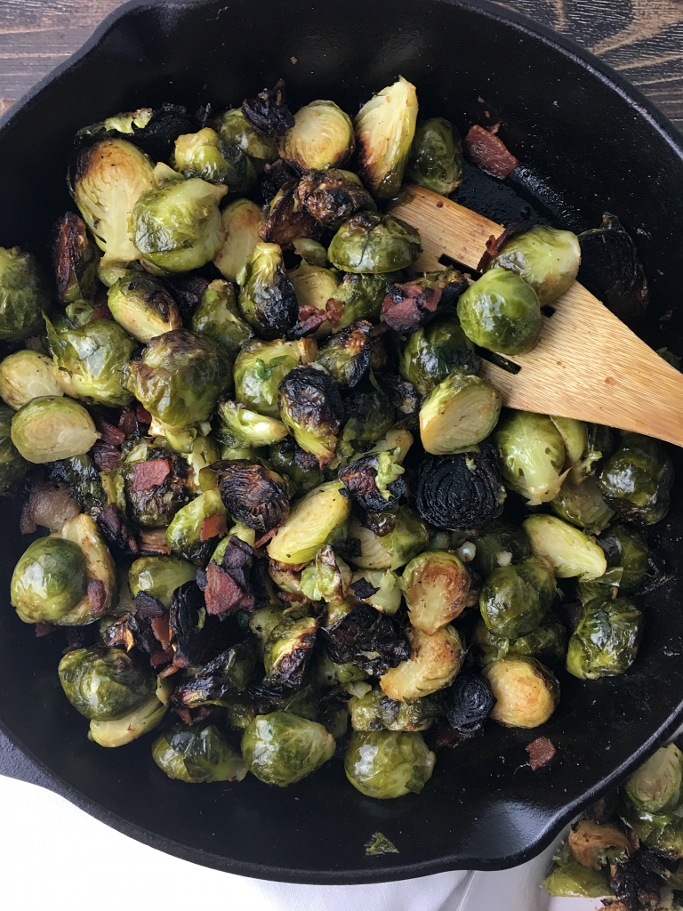 caramelized_brussels_sprouts_with_bacon3 | YoursAndMineAreOurs