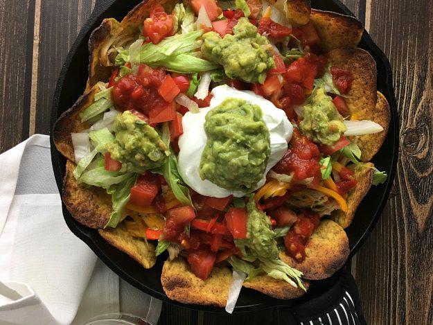 three-pepper-loaded-chicken-nachos3 | YoursAndMineAreOurs