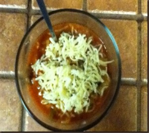 Not Just Any Pizza Soup Recipe - YoursAndMineAreOurs.com