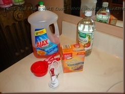 Homemade Floor Cleaner Recipe Ingredients - Yours And Mine Are Ours