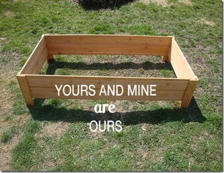 Raised Garden Bed – Under $20 And In Less Than An Hour! - YoursAndMineAreOurs.com