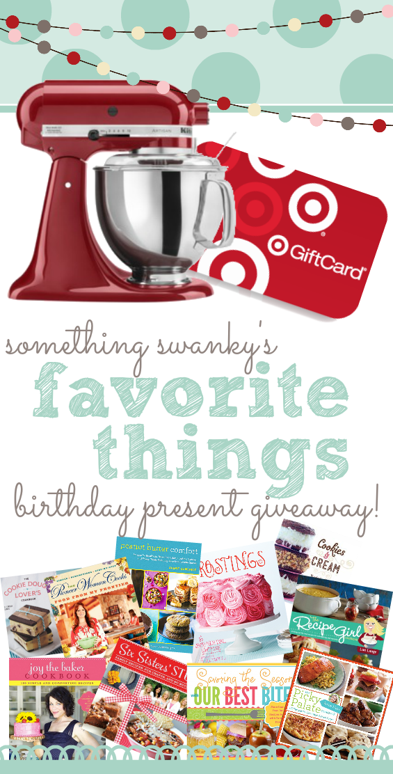 Favorite Things Birthday Present Giveaway Worth 800