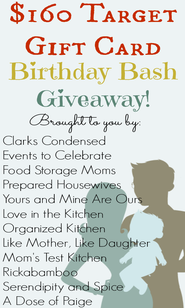 160 Target Gift Card Giveaway Yourine Are Ours Mom Birthday Gifts For Ideas