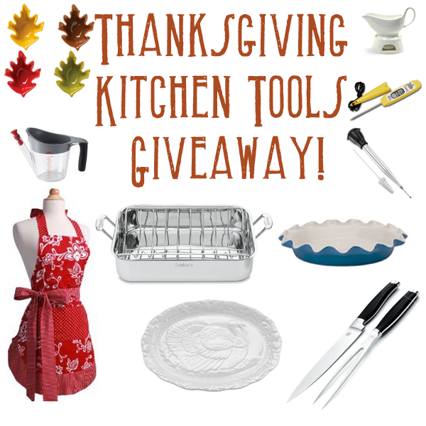 Kitchen Sweepstakes: Thanksgiving Kitchen Tools Giveaway