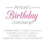 Rickabamboo Birthday Giveaway