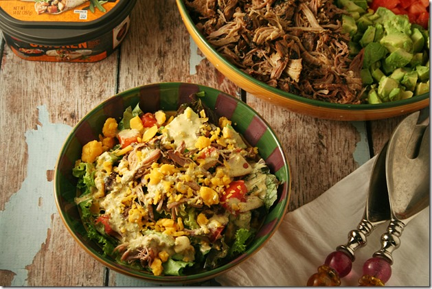 Mexican-Chopped-Salad-and-Creamy-Cilantro-Lime-Dressing-with-ready-to-go-proteins