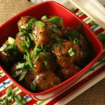 Asian Meatballs with Sweet and Spicy Ginger Sauce #drinkTEN