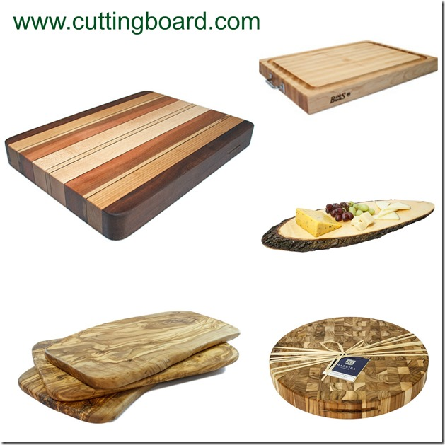 Cutting Board Collage