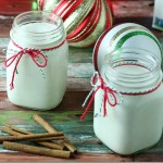Rich-and-Creamy-Low-Carb-Cashew-Milk-Eggnog|Yours And Mine Are Ours