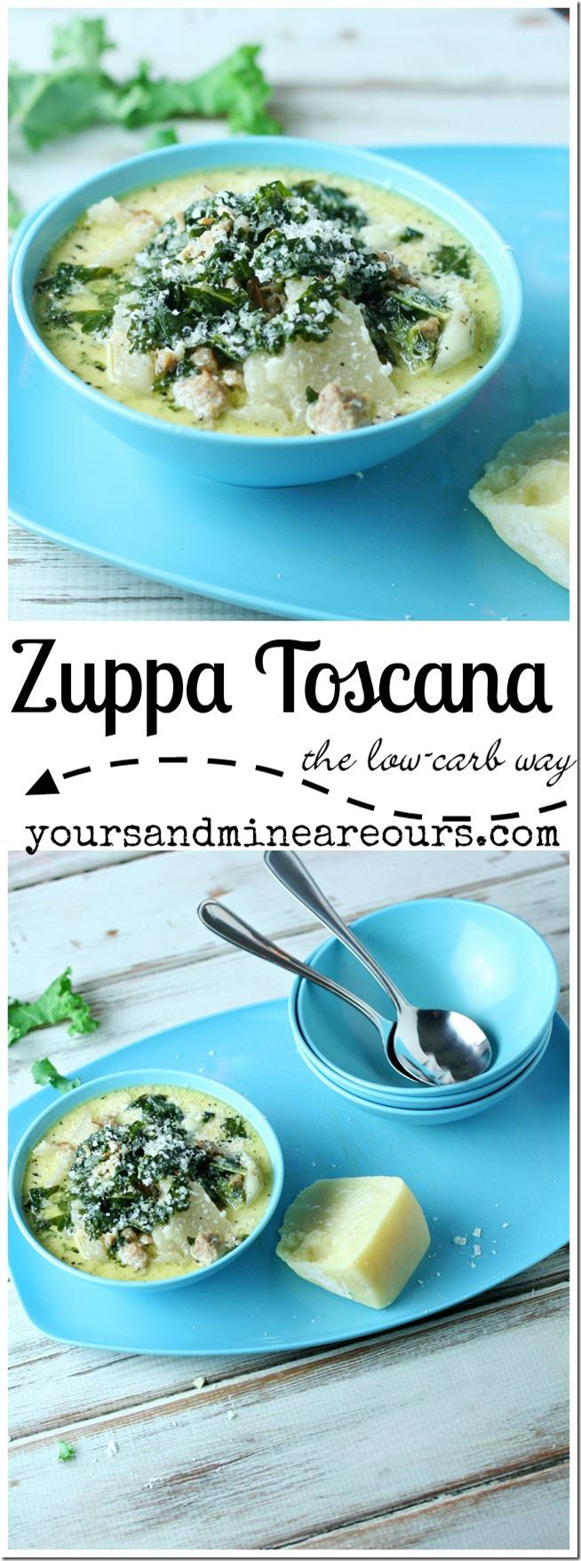 Zuppa Toscana The Low-Carb Way | YoursAndMineAreOurs.com