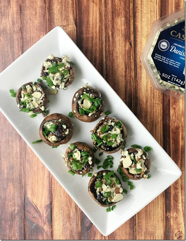 Blue Cheese_Bacon_Cranberry_Stuffed_Mushrooms_YoursAndMineAreOurs4