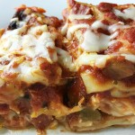 One Pan Supreme Pizza Lasagna