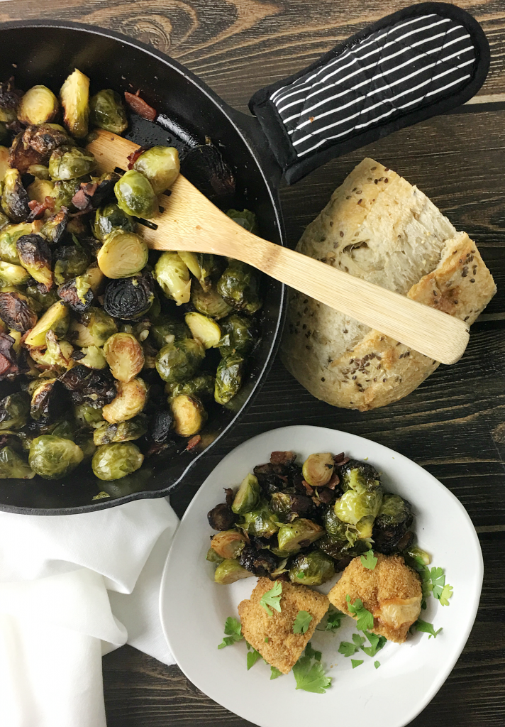 caramelized_brussels_sprouts_with_bacon | YoursAndMineAreOurs