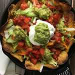 Three Pepper Loaded Chicken Nachos